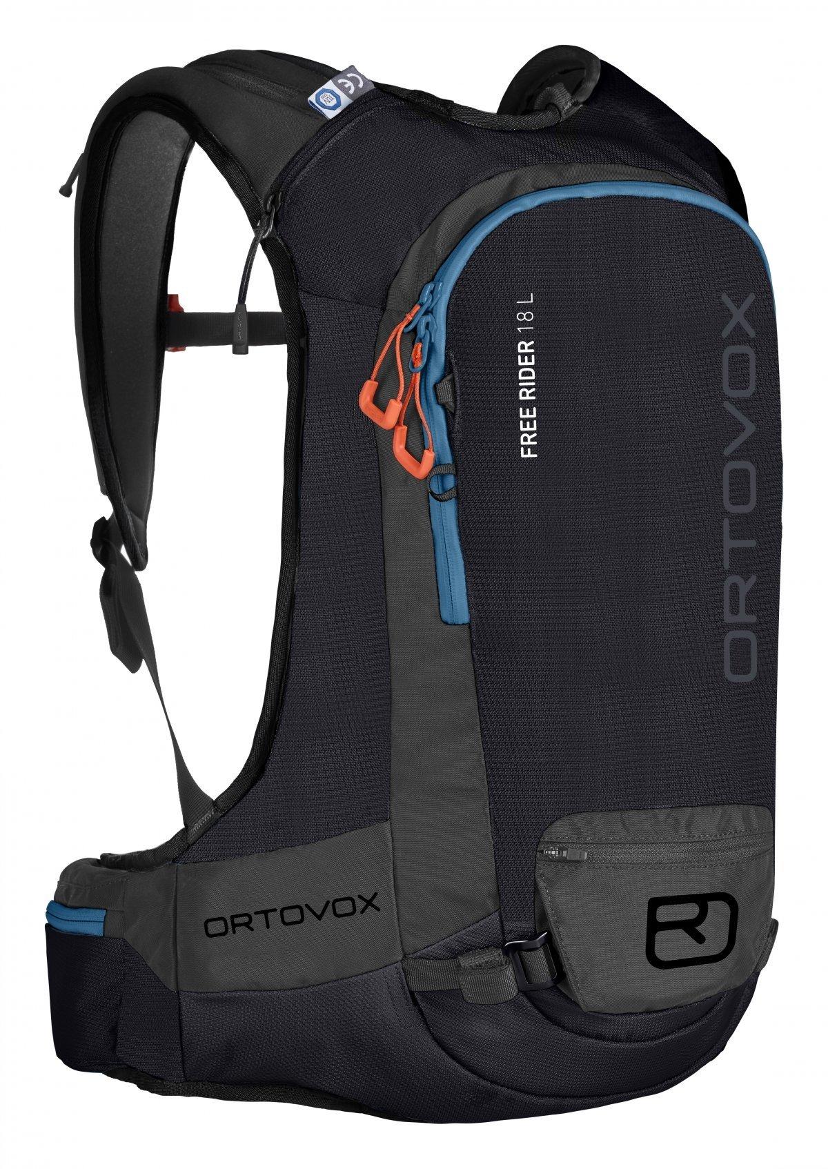 2018 ORTOVOX FREE RIDER 18 BLACK RAVEN