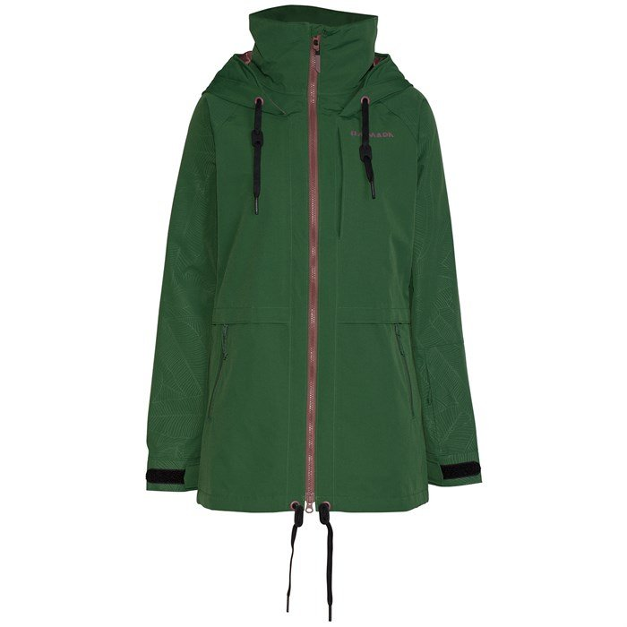 Armada Gypsum Jacket W Forest Green