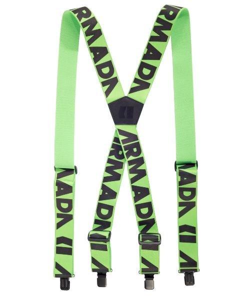 Armada stage suspenders grøn