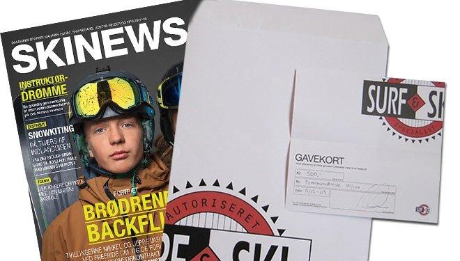 Gavekort Surf & Ski