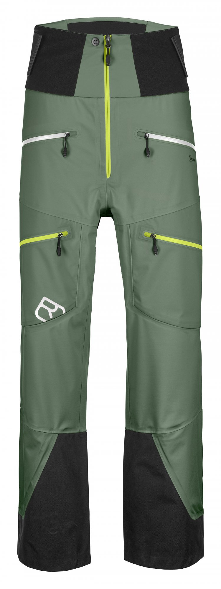 Ortovox 3L Guardian Shell pants, green forest