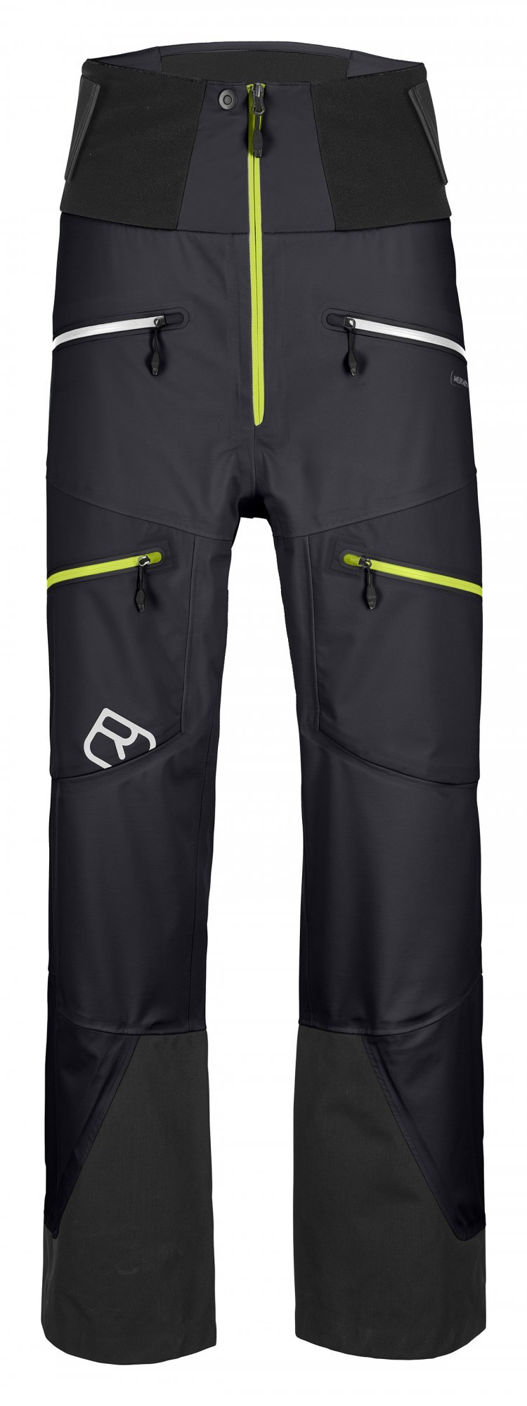 Ortovox 3L Guardian Shell pants, black raven