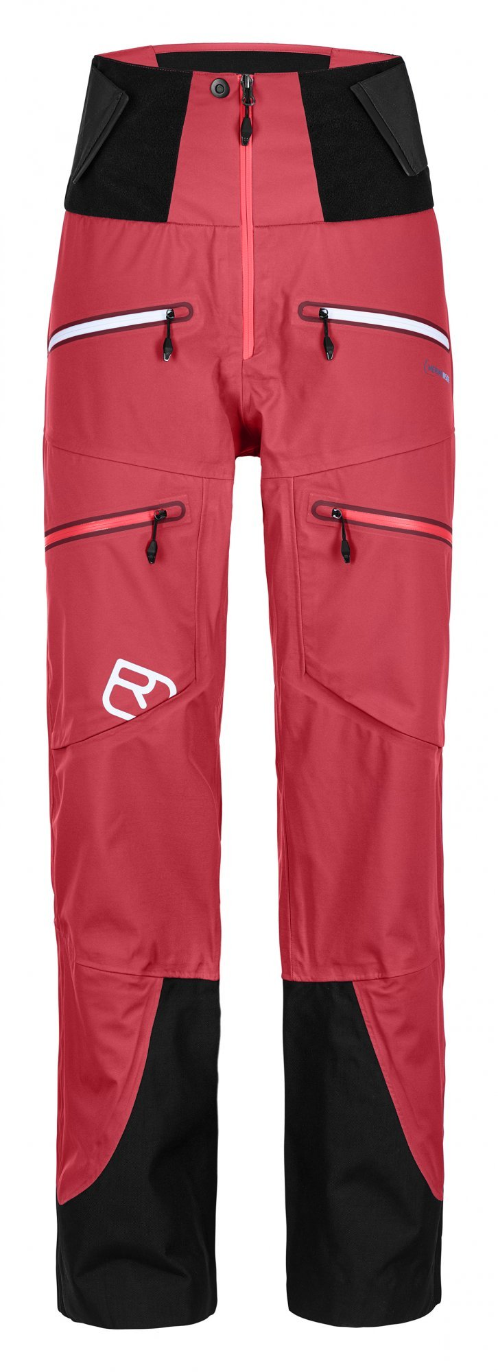 Ortovox 3L Guardian Shell pant W, hot coral