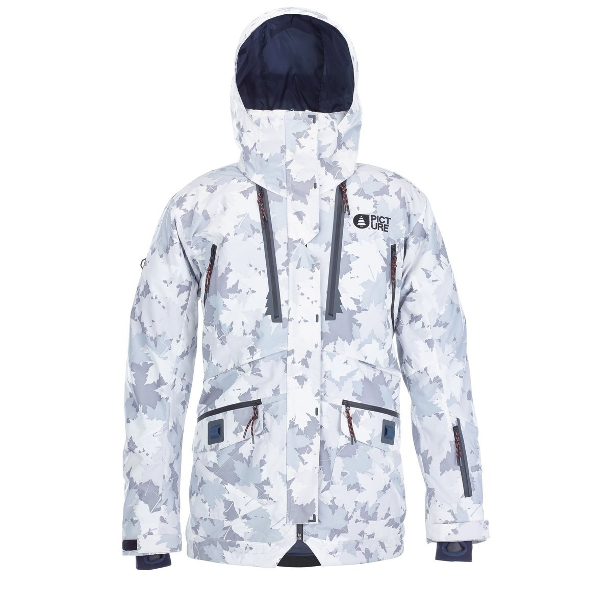 Picture Organic Clothing Central jacket grey camo