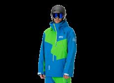PICTURE-ORGANIC-CLOTHING oscar JAKKE, Blå/grøn
