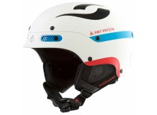 Sweet Protection TROOPER hjelm - White/Blue/red