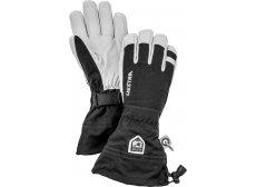 Hestra Army Leather Heli Ski 5-finger Herre Sort/Hvid