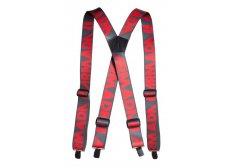 Armada stage suspenders rød