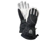 Hestra Heli Ski 5-finger Dame Sort/Hvid