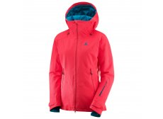 Salomon QST Guard Womens Jacket Red