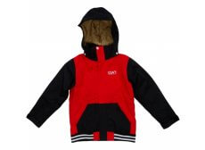 CLWR Bat Junior/børne skijakke, rød