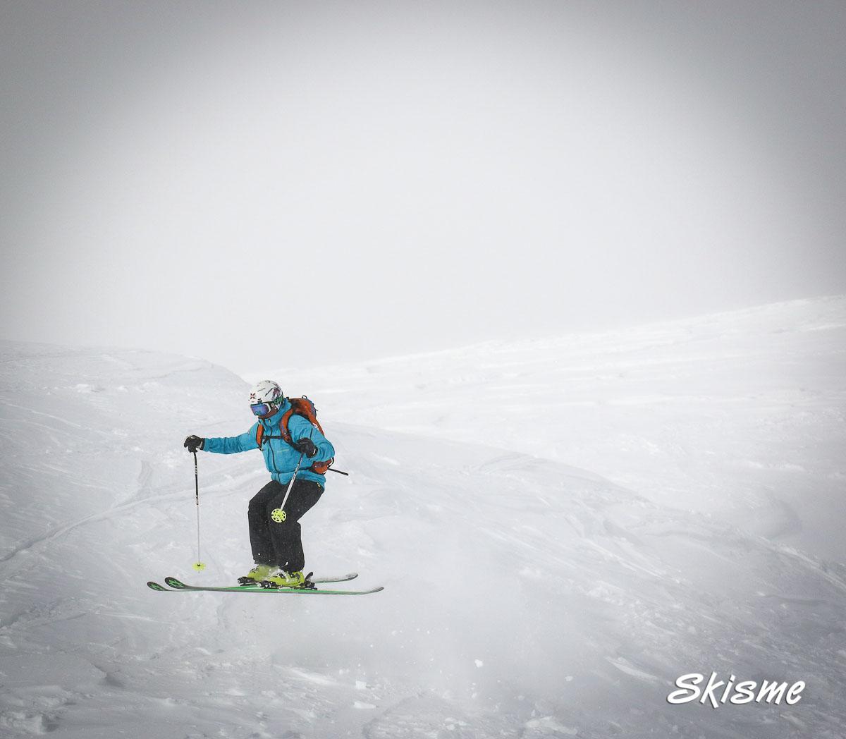002 Livigno off piste, Skisme